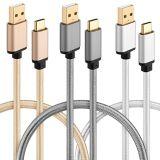 Кабель Микро--USB, Micro мужчина к микро- типу c USB для поручать и данные Tansfer с высокоскоростным и прочным материалом