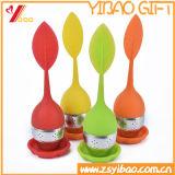 100% tè su ordinazione Infuser/sacchetto del silicone del commestibile per la bottiglia del tè