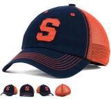 未構造化の6つのパネルは3D刺繍のロゴの洗浄トラック運転手の帽子に投石する