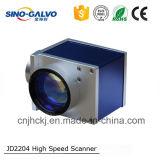 système de lecture de Galvo du miroir Js2204 de 10mm pour le découpage en cuir de laser