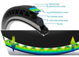 고강도를 가진 담궈진 폴리에스테 산업 타이어 코드 직물