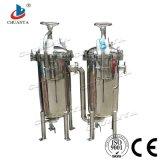 Carcaça de filtro industrial do saco do duplex do aço inoxidável da alta qualidade para a filtragem do produto químico e do petróleo