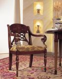 고대 의자 또는 나무 의자 나무로 되는 가구