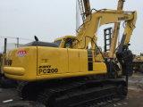 Excavatrice utilisée de KOMATSU PC200-6 avec l'original de rupteur du Japon