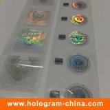 Heißes Folien-Stempeln des kundenspezifischen Anti-Fälschung 2D Hologramm-3D