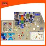 Mich Regenbogen-Plättchen-Spielplatz für Kind-Vergnügungspark