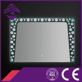 Oval PVC Frame LED retroiluminado Touch Screen baño Espejo