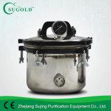 Tipo portable autoclave inoxidable de Xfs-280b 18L de la presión