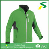 All Seamless Waterproof Zippers Man Softshell Jacket