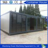 Casa móvil prefabricada ensanchable de lujo modular del contenedor de la casa de la venta caliente para la oficina