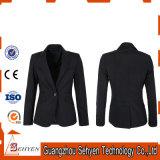Fantasia jaqueta de terno preto para mulheres de Tr