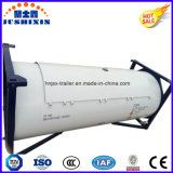 ISO標準の炭素鋼20FTか40FTのガスタンクの容器