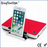 10W de hoge Correcte Spreker van het Spel 2200mAh Powerbank Bluetooth van Qualiy Aux met de Houder van de Tablet van de Telefoon (xh-ps-635)