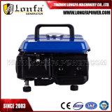 mini gasolina 550watt/550W que gera o motor ajustado Ie45f da potência