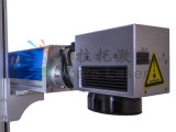 Machine d'inscription de laser de fibre de pièces en métal de matériel