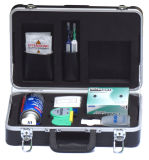 Kit di controllo ottico e di pulizia della fibra