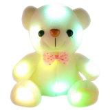 Brinquedos por atacado do urso do diodo emissor de luz do luxuoso do urso da peluche do diodo emissor de luz