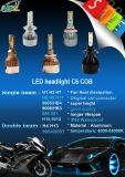 Automotives 정상 가동 Canbus 점을%s 차 크리 사람 LED 헤드라이트 전구
