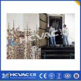 Equipamento de bronze do revestimento da máquina PVD do chapeamento de ouro do cromo da torneira do Faucet da liga do zinco