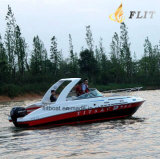 Яхта кабины шлюпки спорта пассажиров цены по прейскуранту завода-изготовителя 12 Flit роскошная