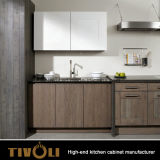 最もよいKbisの台所デザイン普及したマット黒いカラー食器棚および台所家具(AP147)