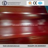 Prepainted Gi 강철 코일/PPGI/PPGL 색깔에 의하여 입히는 직류 전기를 통한 물결 모양 장