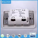 Elektrischer 1 Gruppe-an der Wand befestigter intelligenter Schalter-Kontaktbuchse-Anschluss