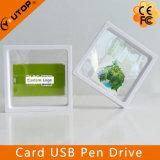 Movimentação da pena do USB do cartão de crédito com a caixa de indicador suspendida (YT-3101)
