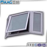 Finestra di alluminio - finestra della tenda con l'argano