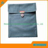 ドローストリングボタンの閉鎖の硬貨の財布のキー袋
