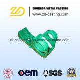Pieza de acero fundido modificada para requisitos particulares para las piezas ferroviarias