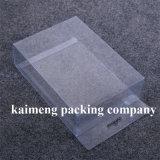 Коробка выдвиженческого ясного пластичного подарка упаковывая с печатью смычка (упаковывая коробка)