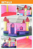 Base de salto de princesa Castle Inflatable con el carro de la calabaza