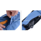 Hombre Impermeable Nylon Mono Hombro Triángulo Messenger Bag pecho