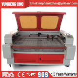 Máquina de grabado de acrílico del corte del laser del MDF 100W de madera de las telas