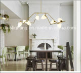 Modern Design Criativo Lâmpada de suspensão de vidro LED Germ Chandelier