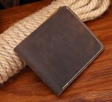 Restor Crazy Horse Simple Men Wallet