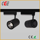 20W haute qualité blanc et noir LED Down Tube Track Light