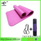 Estera de alta densidad de la yoga de la gimnasia de Pilates de la yoga de la estera de la TPE NBR/de la aptitud caliente del PVC/NBR