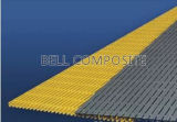 Plate-forme //Fiberglass de FRP/GRP Pultruded Grating//Walkway Grating//Industrial
