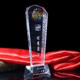 2016 de Bevallige Trofee van het Glas van het Kristal van de Pijler