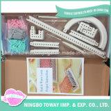 Musterpompom-Hersteller-Spielwaren-Kugel-Nadel-strickendes Plastikhilfsmittel