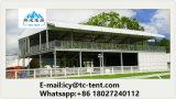 Шатер структуры двойного Decker пола кубика 2 высокого качества фабрики с настилом VIP
