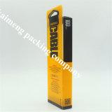 China Luxury Style Customized Clear Package Caixas de lápis plásticas plissáveis com impressão em 3D (caixa de lápis)