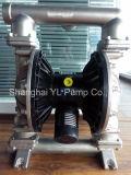 Qbk-25 pompe chimique pneumatique de l'acier inoxydable 316L