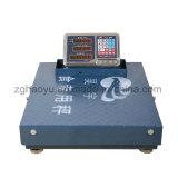 Escala de peso eletrônica portátil da tabela com punho