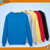 Nuevo suéter en blanco llano de Hoodies del cuello de equipo del algodón de los hombres de la camiseta