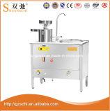 Máquina comercial do leite da eficiência elevada da máquina do leite do feijão de soja do gás