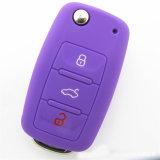 Ключ автомобиля силикона промотирования покрывает автоматический Keyless автомобиль Keycover случая