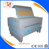 Machine de découpage de laser de bonne qualité avec localiser l'appareil-photo (JM-1480H-CCD)